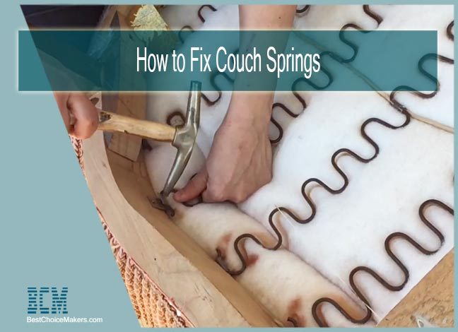 How to Fix Couch Springs
