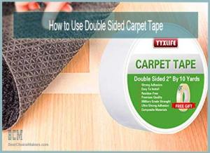How to Use Double sided Carpet Tape on Hardwood Floor