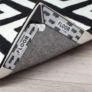Gorilla Grip Adhesive Rug Gripper for Area Rugs on Hardwood Floors