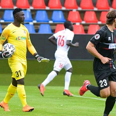 Matthew Yakubu, Keeps Two Clean Sheets In Three Matches In Slovakia League  - Best Choice Sports