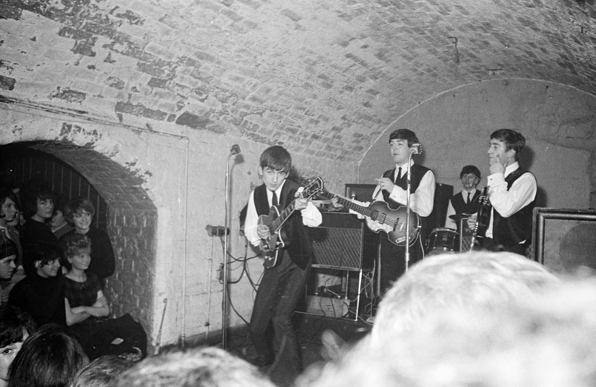 Image result for the beatles at the cavern club pictures