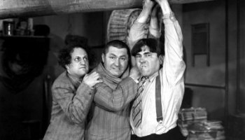 Funny movie quotes fromA Plumbing We Will Gostarringthe Three Stooges