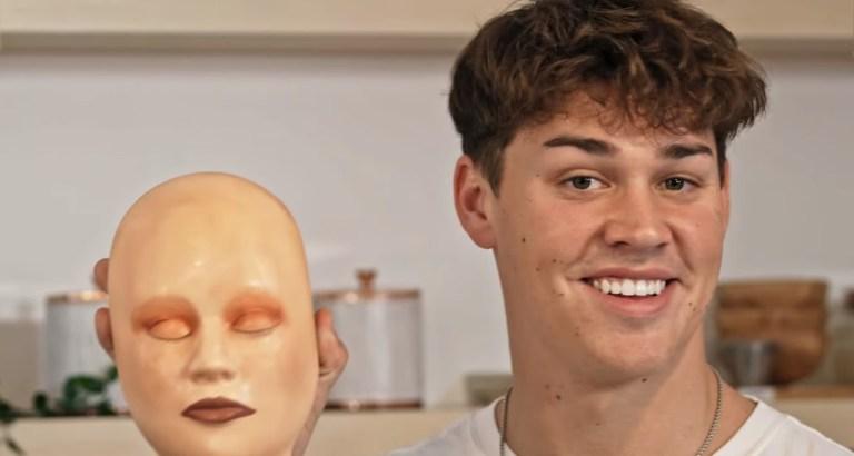 James Charles Grades Noah Beck's Makeup Skills on 'Noah Beck Tries Things' | James Charles, Makeup, Noah Beck
