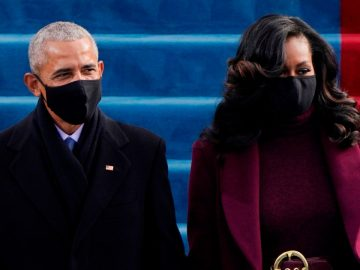 Les cheveux d'inauguration de Michelle Obama sont si incroyables qu'Internet les perd