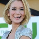 2014 Caitlin Fitzgerald Coiffures courtes mignonnes: Coupe de cheveux blonde Bob