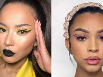 "The ""Double Wing"" Eyeliner Makeup Trend For Summer"