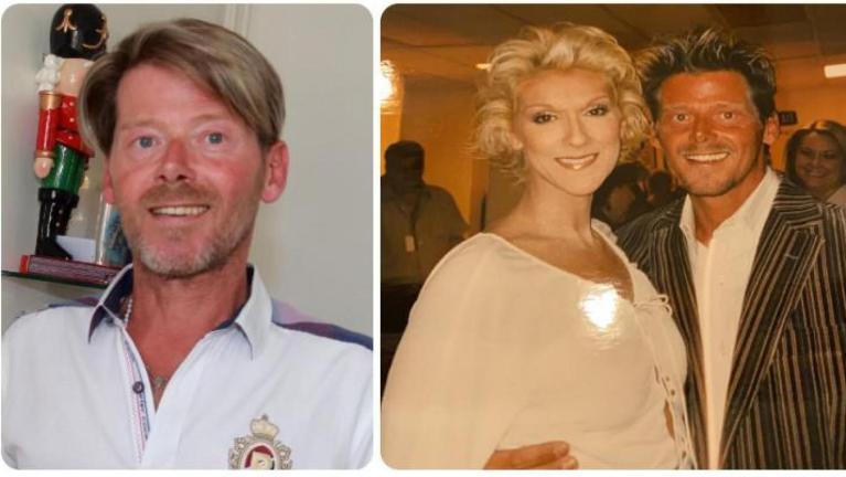 Vingt ans séparent ces deux photos. Rudy se souvient de sa rencontre avec Céline comme si c'était hier...