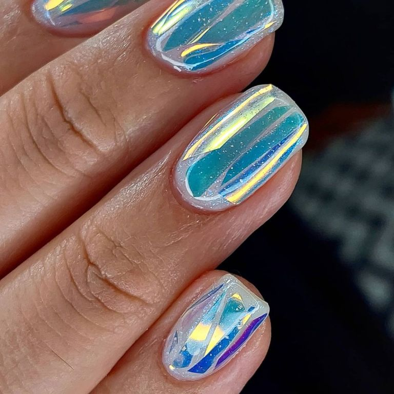 tendance ongles aurore