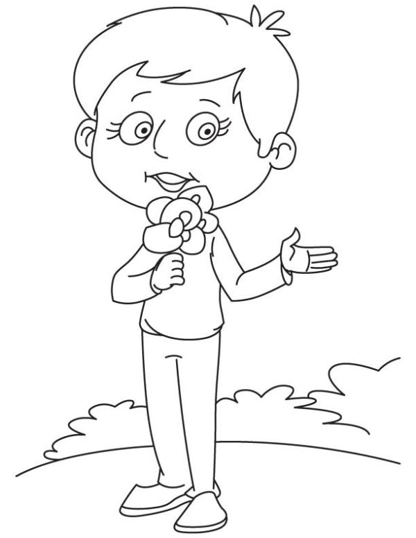 sweet pea coloring pages # 26