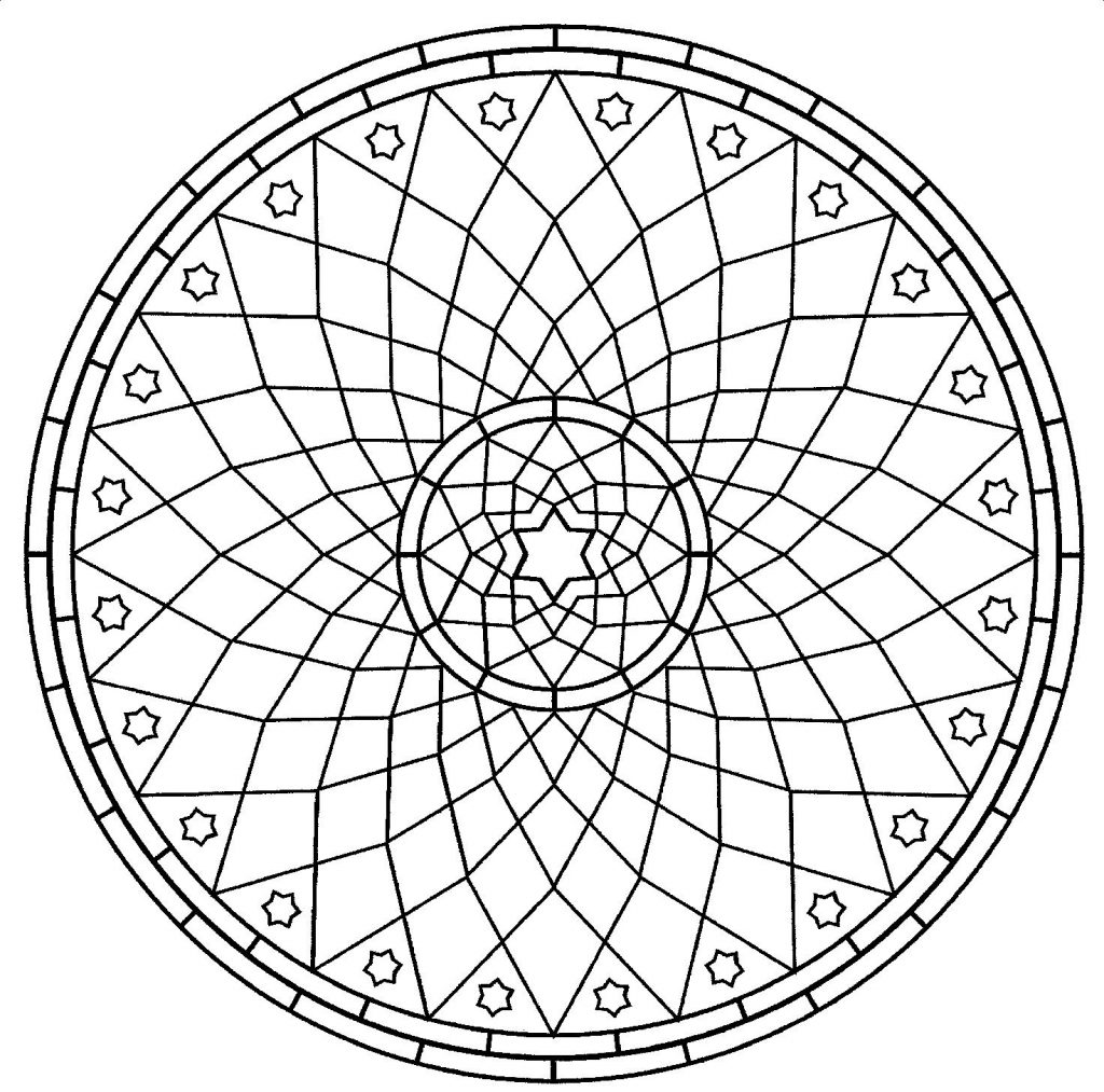 Free Printable Mandalas for Kids - Best Coloring Pages For ... | free coloring pages mandala printable
