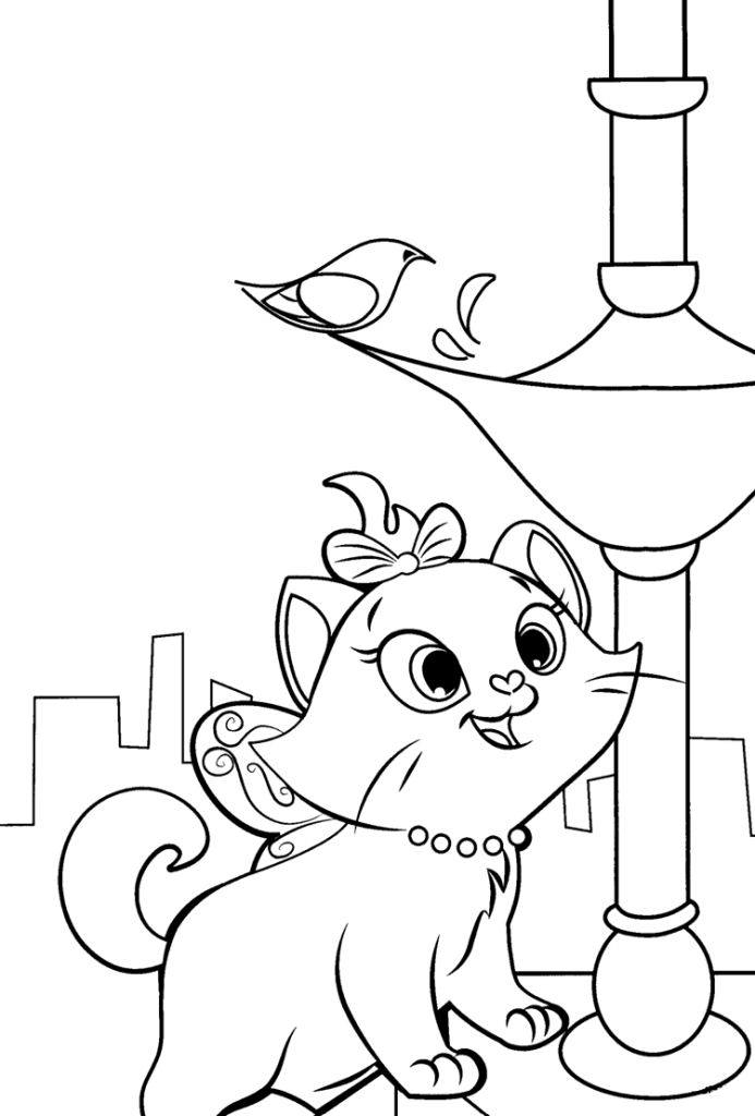 Aristocats Coloring Pages Best Coloring Pages For Kids