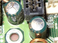 bad capacitors