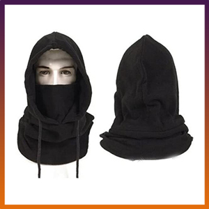 BINE Hats for Men for winter with Face Marks