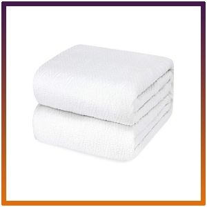 Luxury King Size, Cotton Throw Blankets, Bed Or Couch Thermal Blanket.