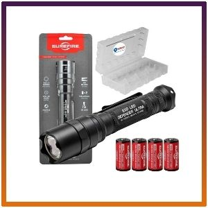 Surefire Tactical Lumens Led Flashlight 4 Extra Bundle With Batteries And A Lightjunction