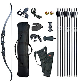 D&Q Hunting Recurve Bow and arrow set