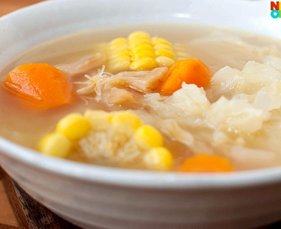 Chinese Corn Cob Soup Recipe