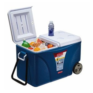 Rubbermaid Extreme 5 day Wheeled Ice Chest Cooler