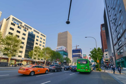 Gangnam area Seoul - centre for cosmetic surgery