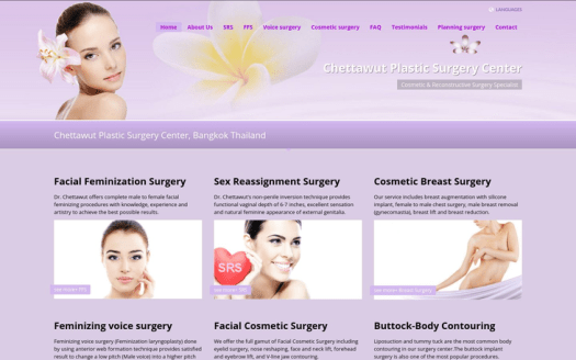 Chettawut Plastic Surgery Center, Bangkok Thailand