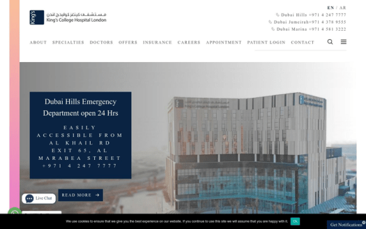 Kings College Hospital Dubai UAE