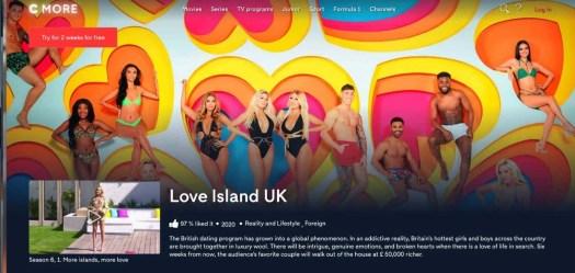 love island show