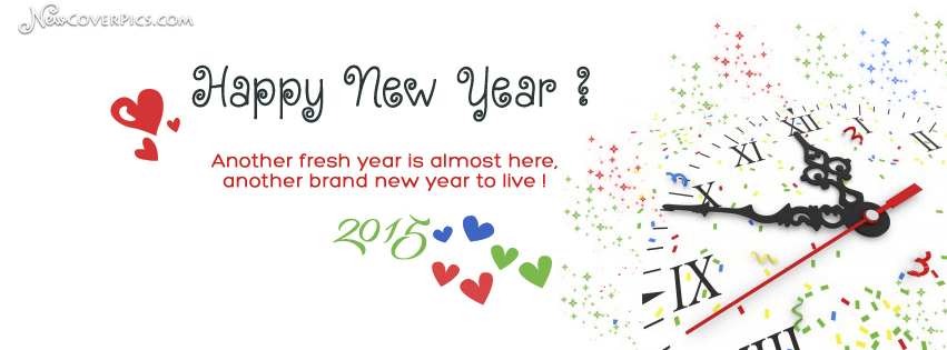 happy new year fb cover photo