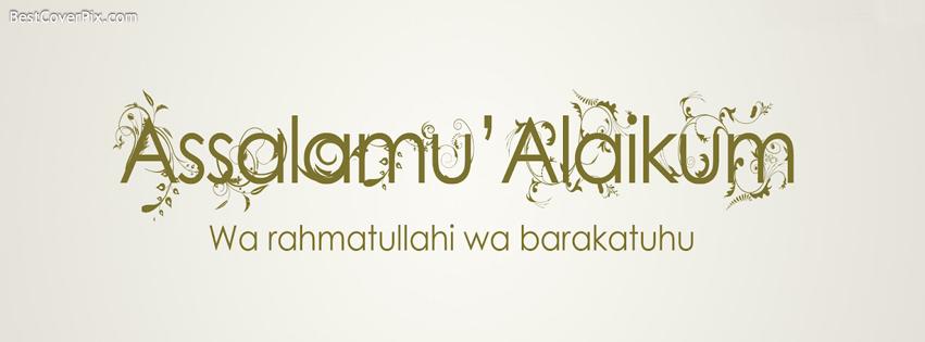 asalam o alaikum islamic cover photo