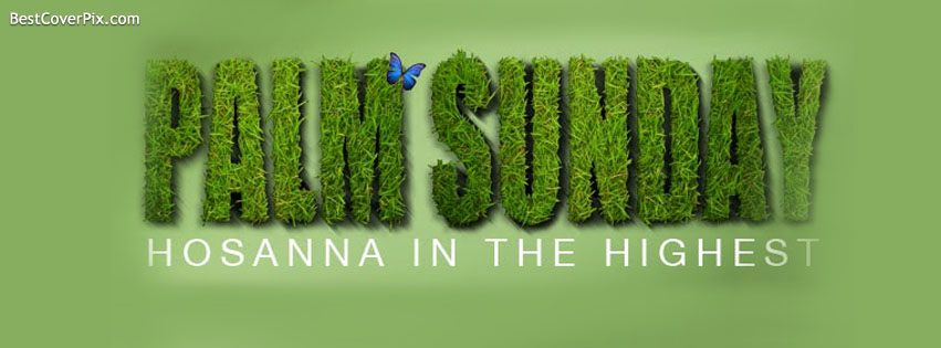 palm sunday facebook cover april 13