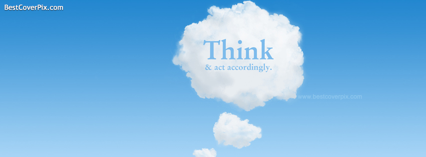 think and act fb cover photo