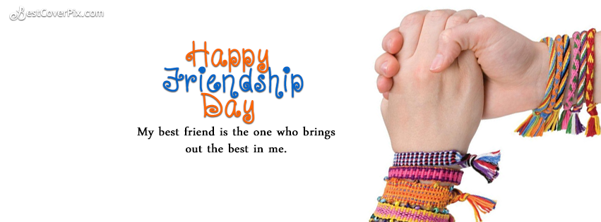happy friendship day fb cover photo