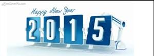 digital 3d happy new year fb cover