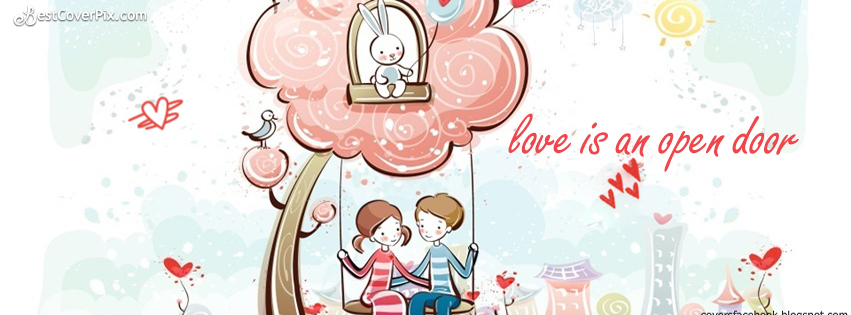funny Love Quotes Facebook timeline cover