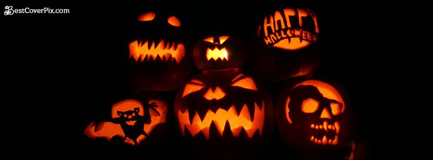 crazy happy halloween fb banner