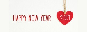 Love 2019 New Year Facebook Cover with Heart
