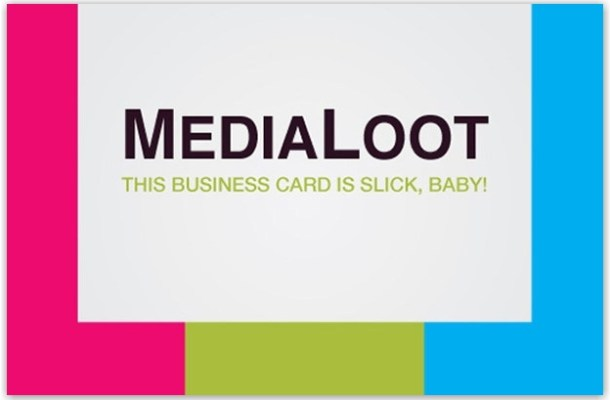 tutorial business card