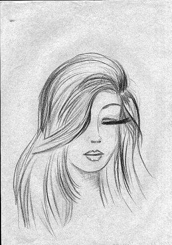 Грустные черно-белые картинки для срисовки карандашом про ...