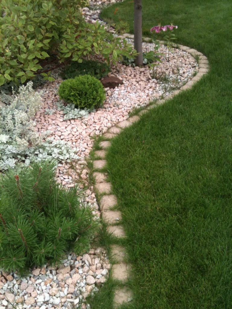 we will replace this contaminated cobble edging