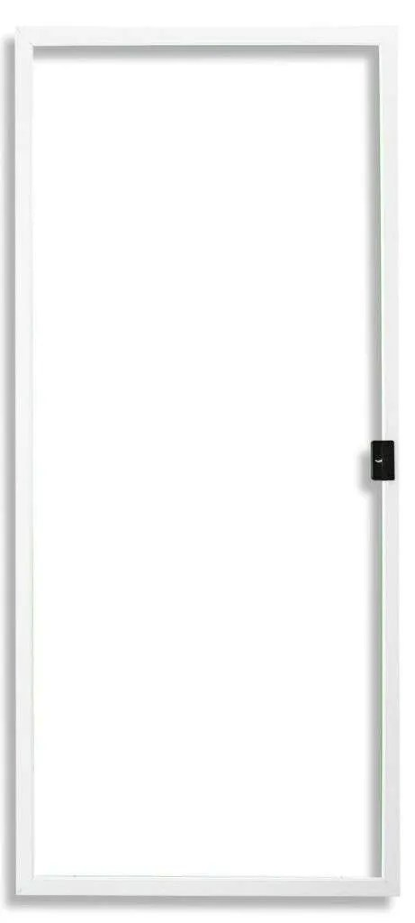 In Stock 36x94 Fully Assembled Economy Sliding Screen Door - Exact Size