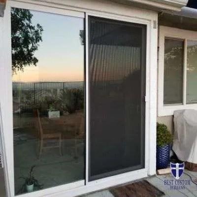 8 ft sliding screen door problem
