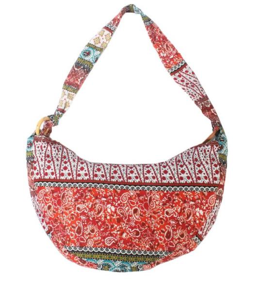 Bohemian prints sling bag
