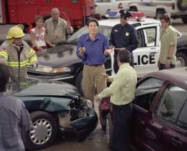 In a wreck without business auto insurance