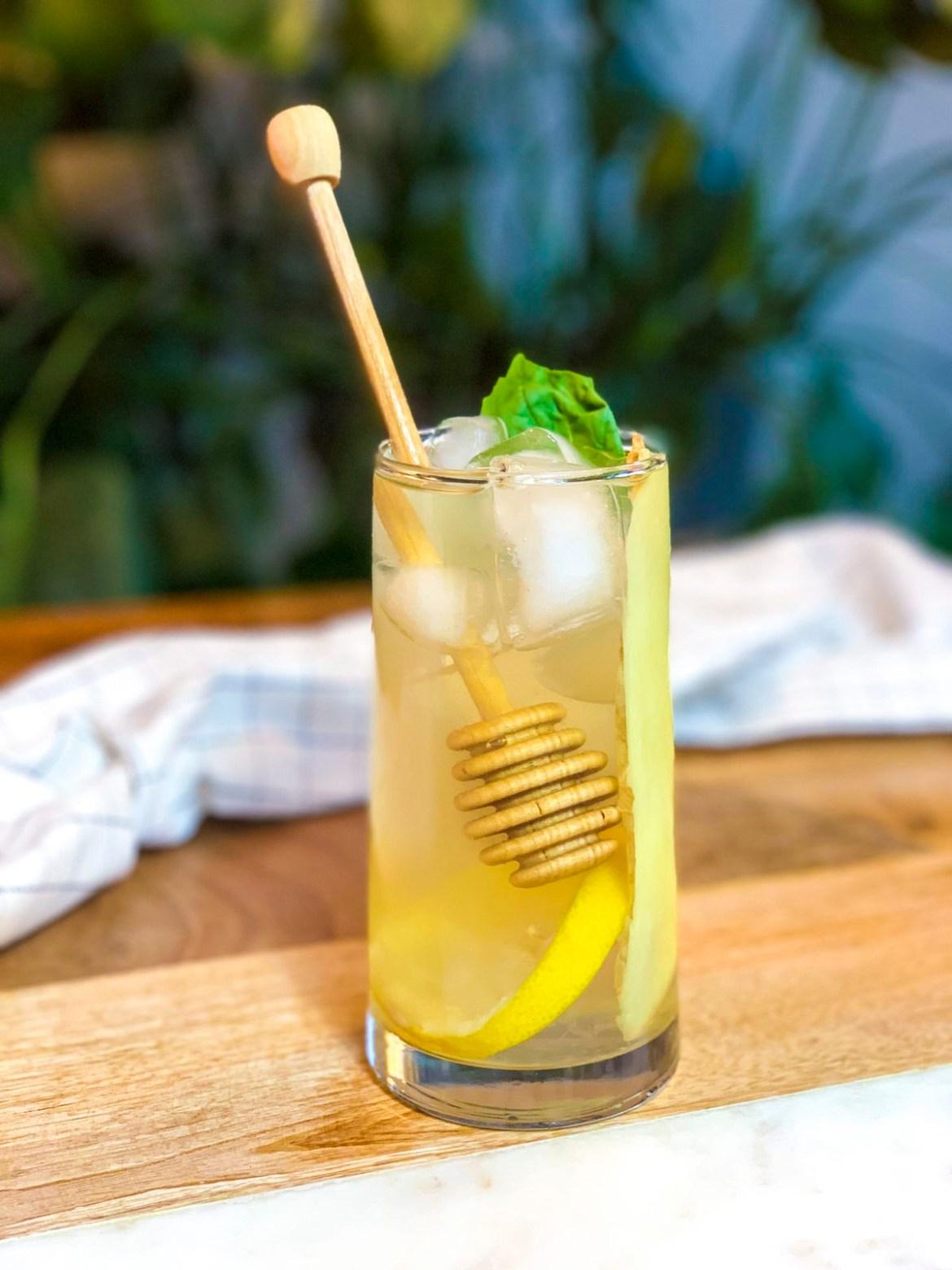 Ginger Ginseng Iced Tea