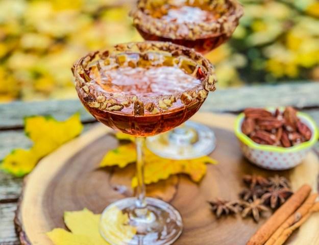 Cranberry Ginger Pecan Martini