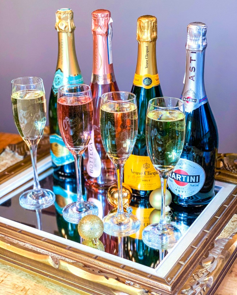 Host a Sparkling Wine Tasting, Perfect for New Year's Eve