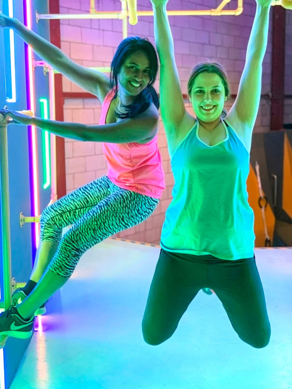 Hit Up a Gym or Obstacle Course