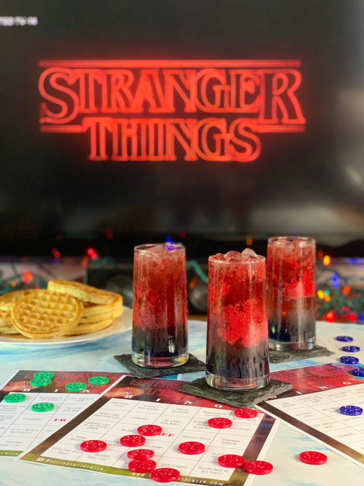 Stranger Things bingo