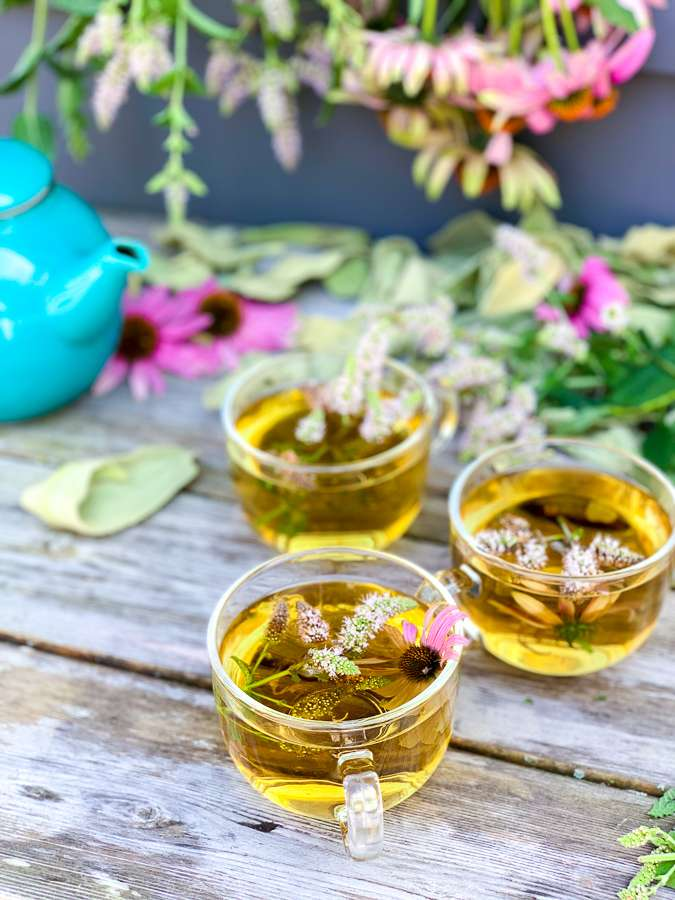Herb and Wildflower Tea