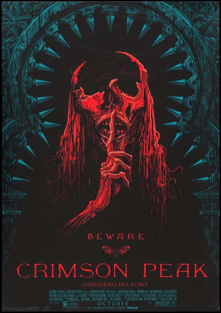 Crimson Peak Favourite Scary Movies