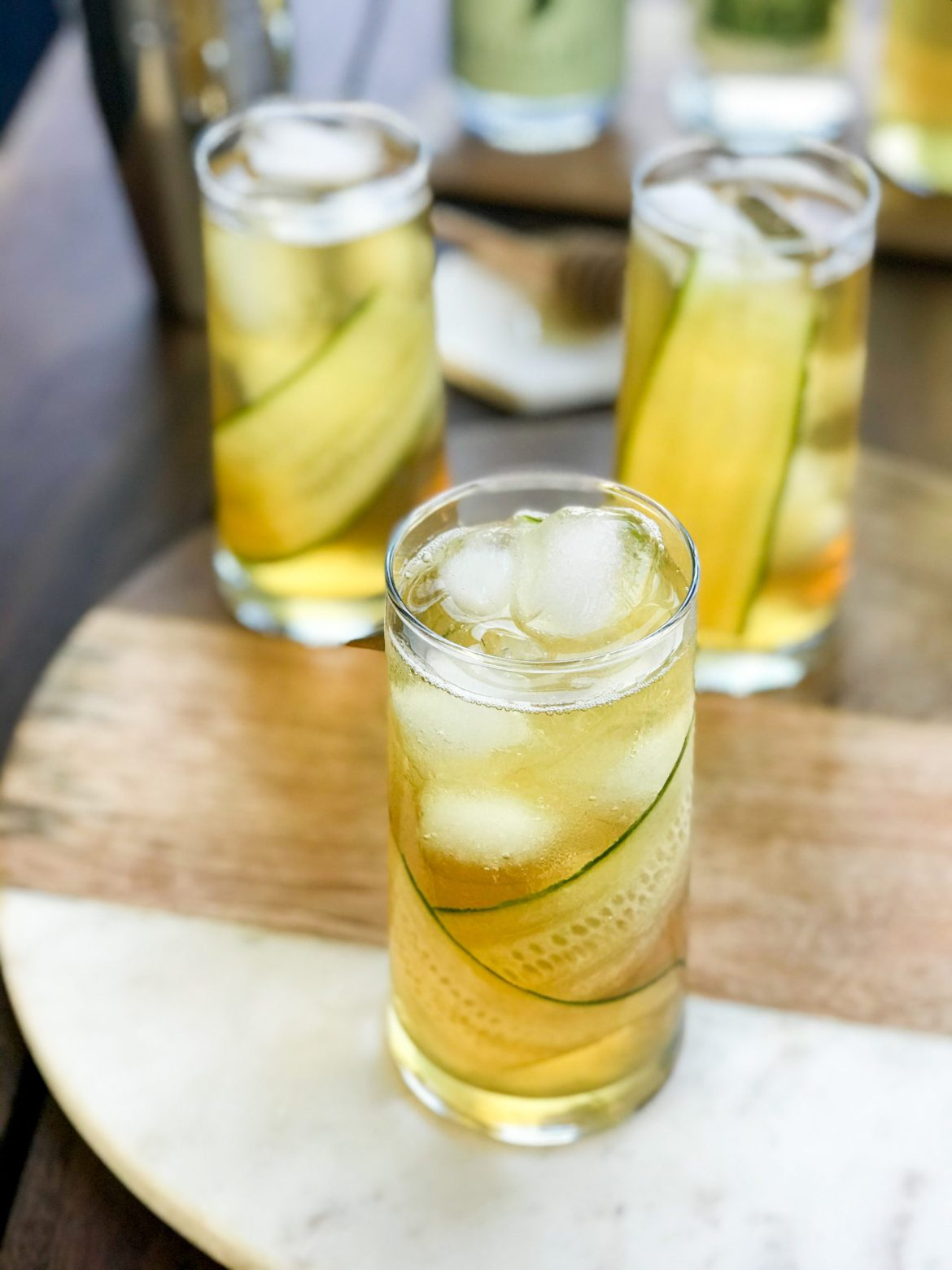 Green Tea Cucumber Collins